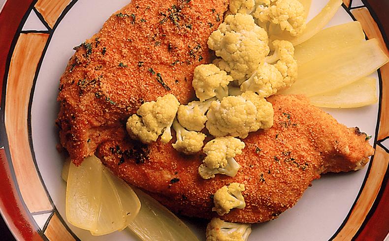 Peito de frango no micro-ondas
