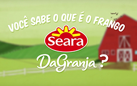 Saiba como é a criação de um frango Seara DaGranja.