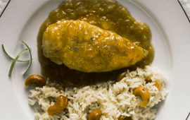 Curry de frango