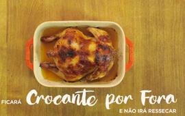 Como deixar a carne do frango macia e molhadinha, sem ressecar no forno