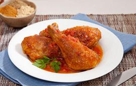 Coxa picante de frango