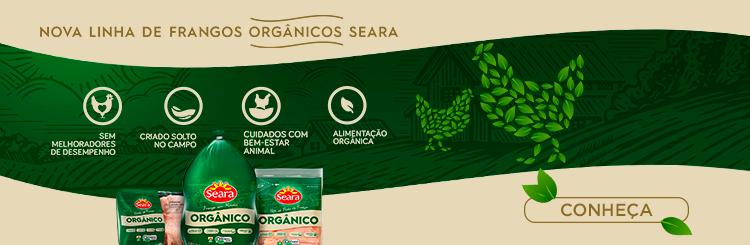 Confira a nova linha nova linha de frangos orgânicos Seara